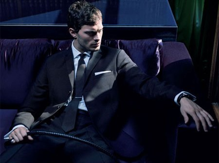 Jamie Durnan as Christian Grey