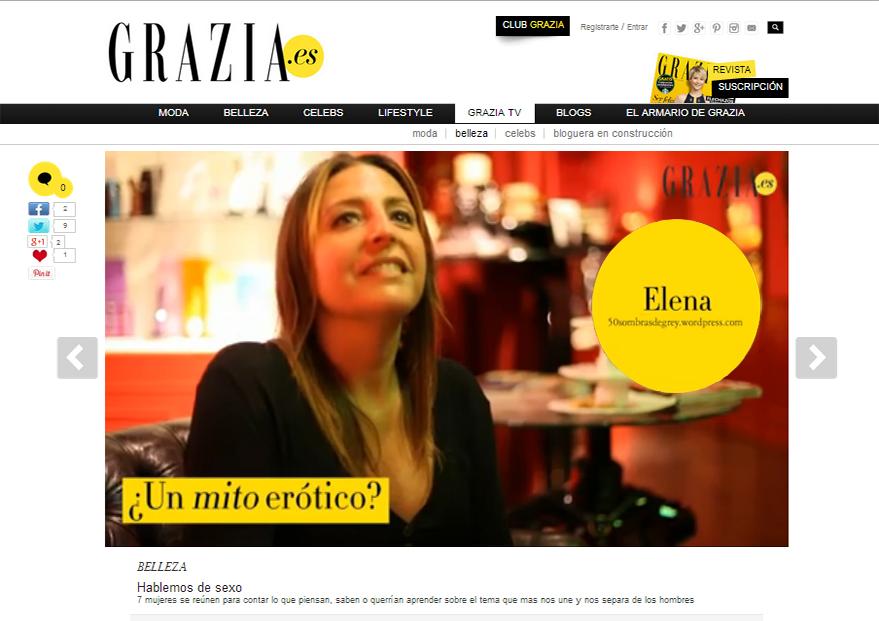 Grazia TV Elena 50 Sombras jpg