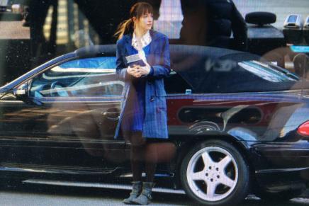 MÁS FOTOS del rodaje de 8 de diciembre: Anastasia en las oficinas de Grey