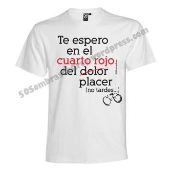 Camiseta hombre 50sombras cuarto rojo 50 sombras spain for Cuarto rojo 50 sombras