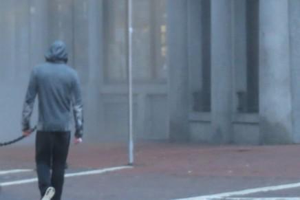 Vídeo de las escenas de Christian corriendo