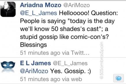 ¿Cuándo se sabrá el casting de la película 50 Sombras?