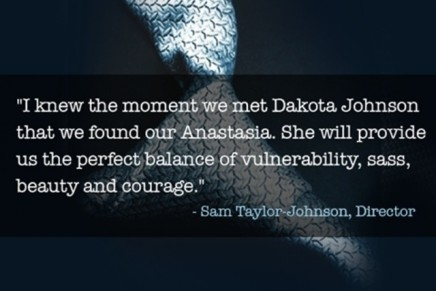 La directora de la película 50 Sombras habla sobre Dakota Johnson