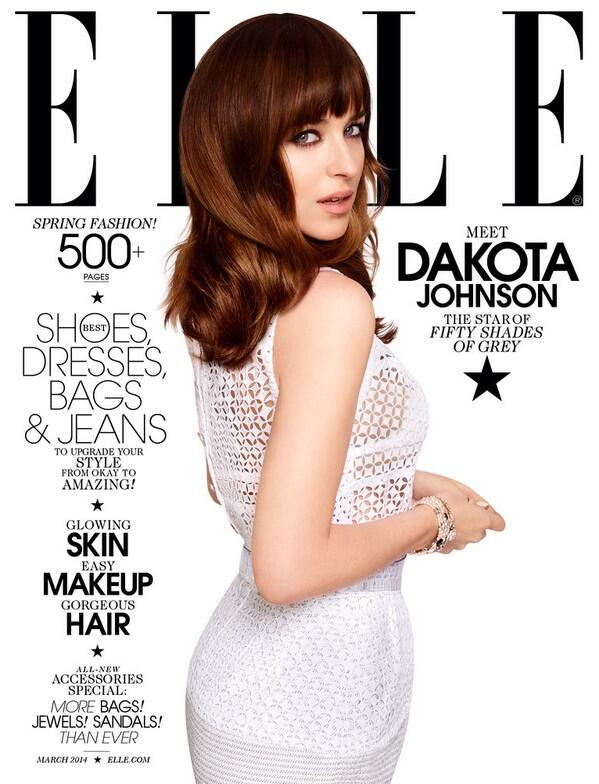 Dakota Johnson Elle USA marzo 14 19