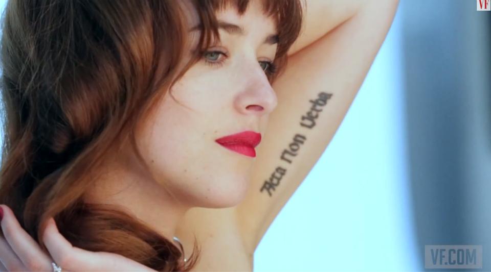 Dakota Johnson Vanity Fair Marzo 2014 10