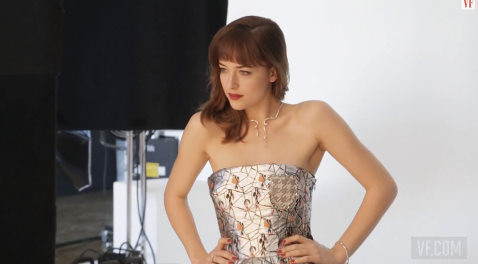 Dakota Johnson Vanity Fair Marzo 2014 3