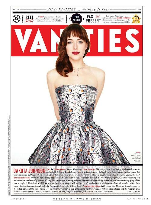 Dakota Johnson Vanity Fair Marzo 2014