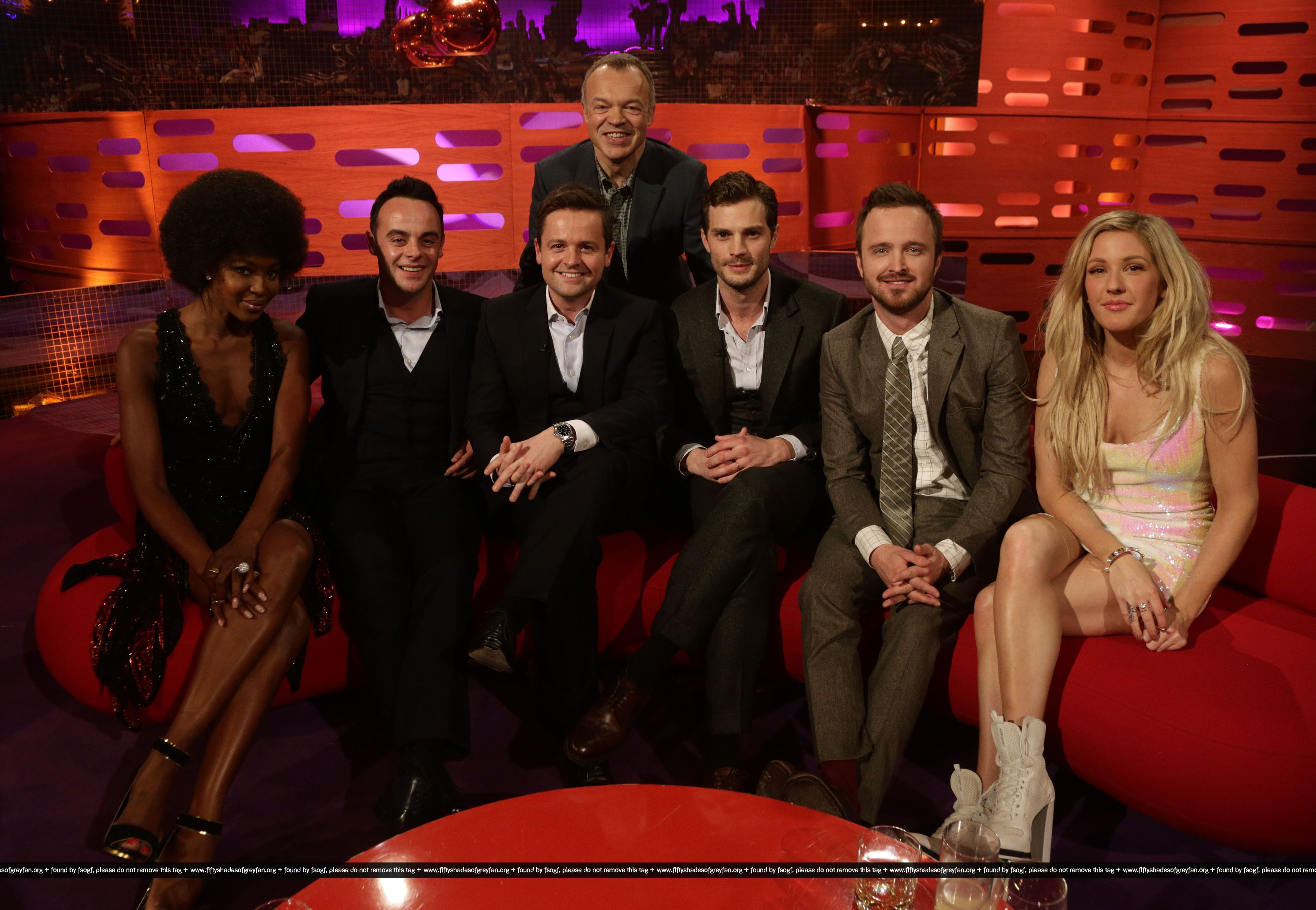 Jamie Dornan  50 Sombras The Graham Norton Show 1