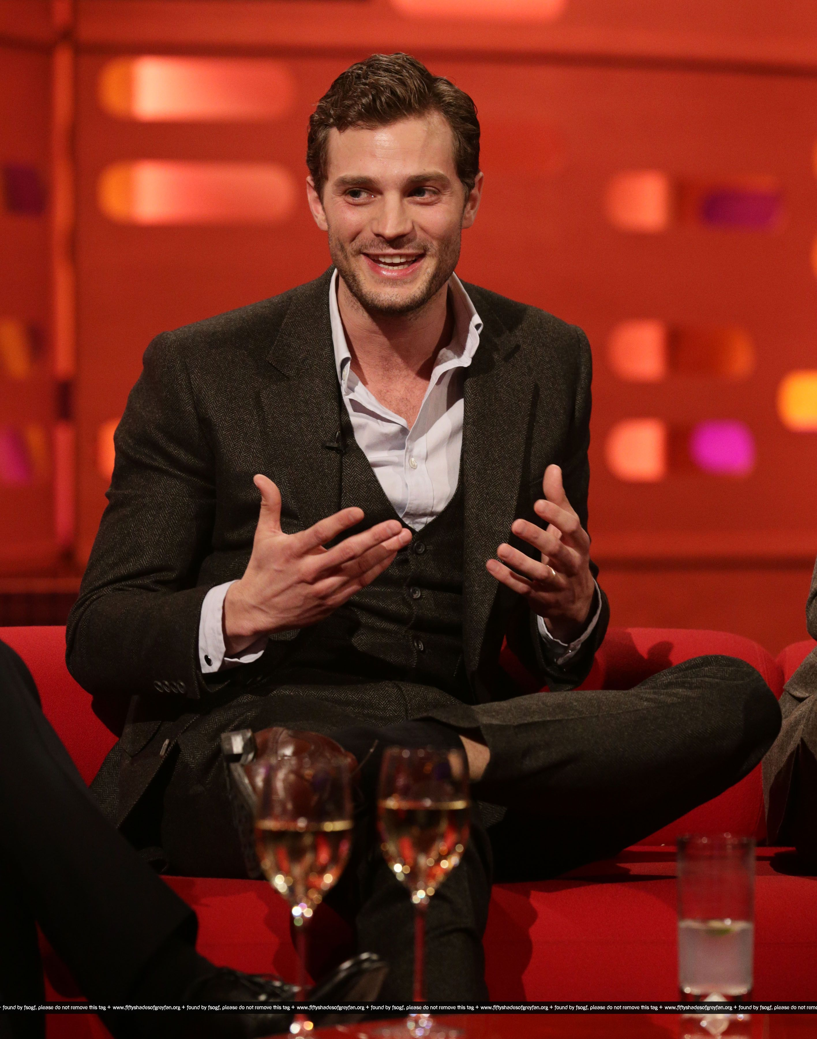 Jamie Dornan  50 Sombras The Graham Norton Show 8