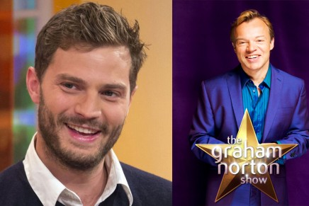 "Mañana os ofreceremos el Live streaming ""The Graham Norton Show"" con Jamie Dornan"