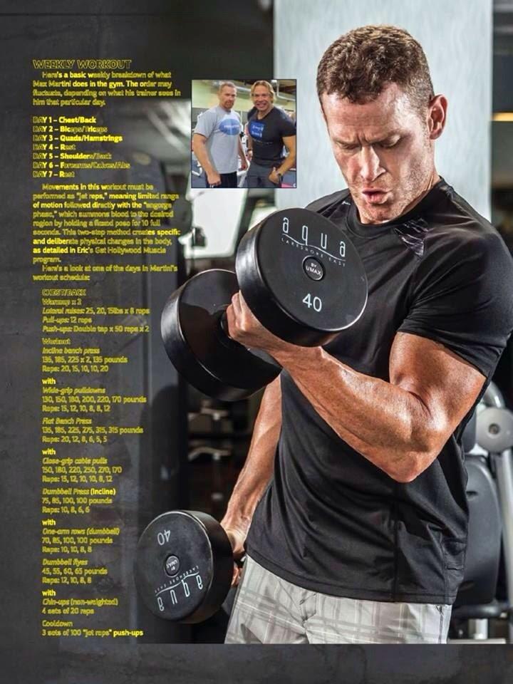 Max Martini Fitness RX 8