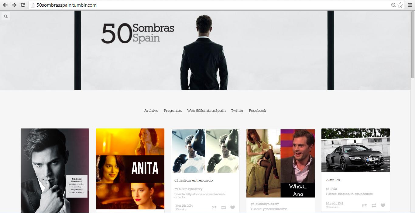 Nuevo tumblr 50 sombras spain 50 sombras spain - 50 sombras de grey spain ...