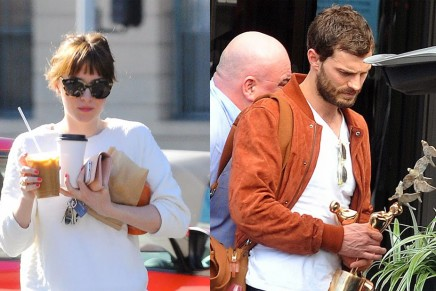 Últimas fotos de Jamie y Dakota (abril 2014)