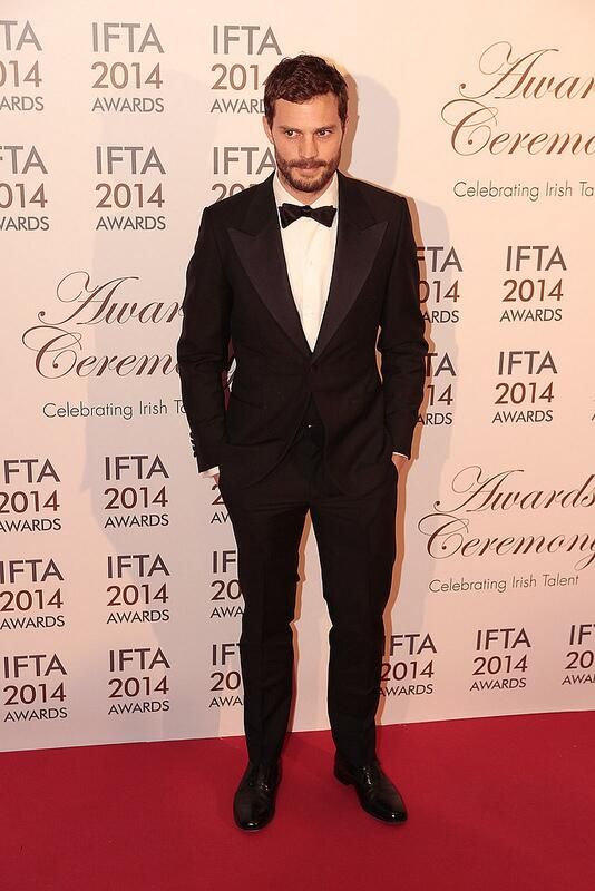 Jamie Dornan premio IFTA 2104 1
