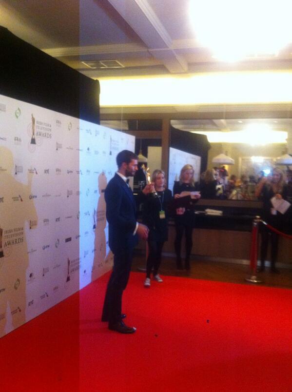 Jamie Dornan premio IFTA 2104 10