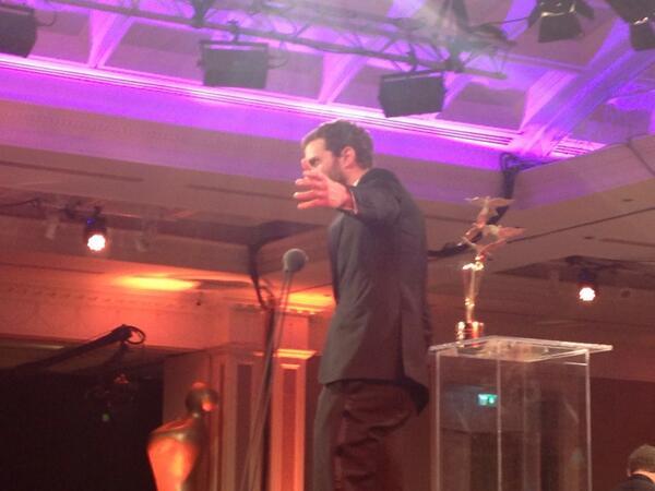 Jamie Dornan premio IFTA 2104 13
