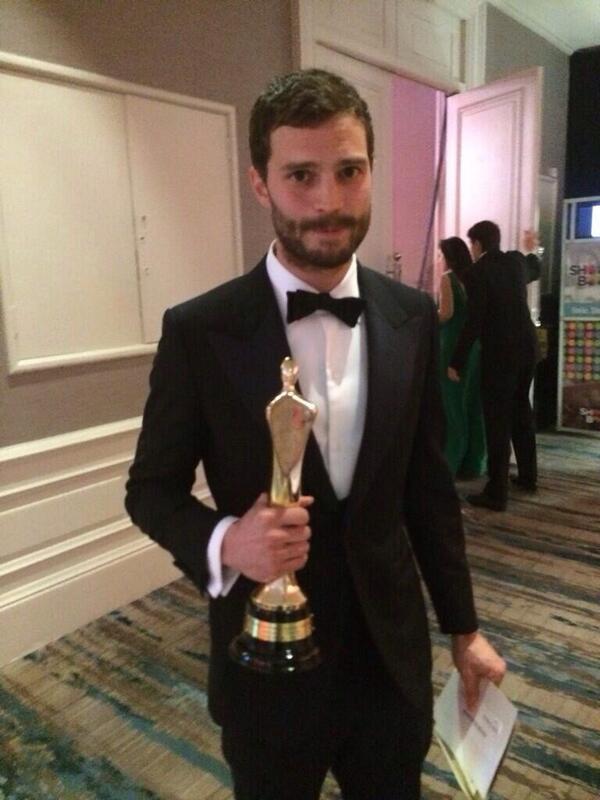 Jamie Dornan premio IFTA 2104 14
