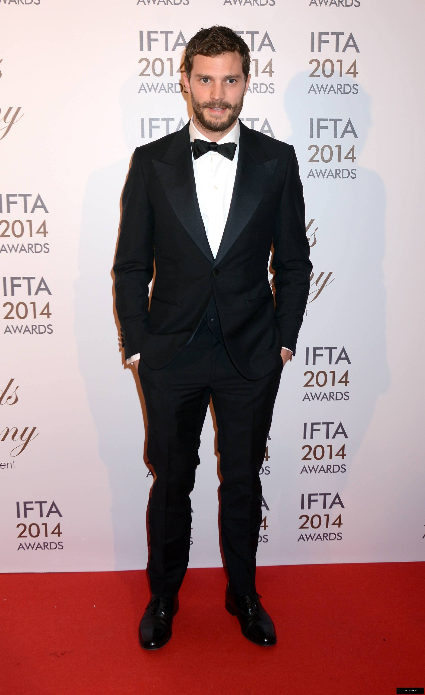 Jamie Dornan premio IFTA 2104 23