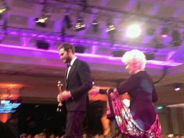 Jamie Dornan premio IFTA 2104 4