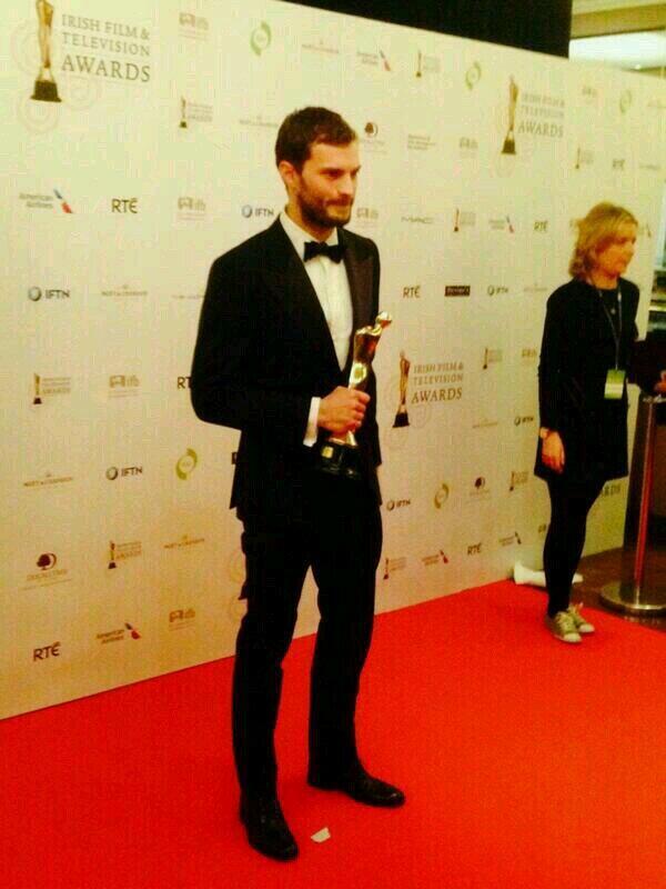 Jamie Dornan premio IFTA 2104 6