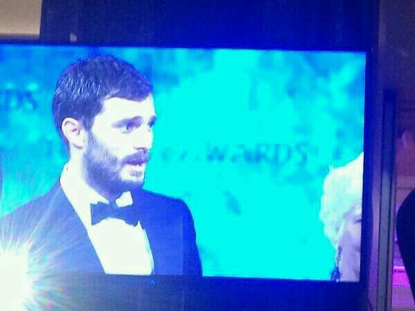 Jamie Dornan premio IFTA 2104 8