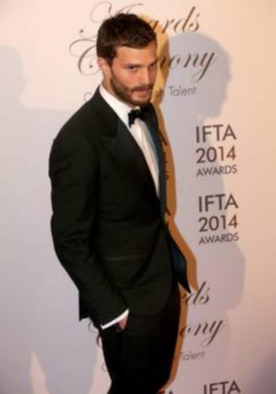 Jamie Dornan premio IFTA 2104 87