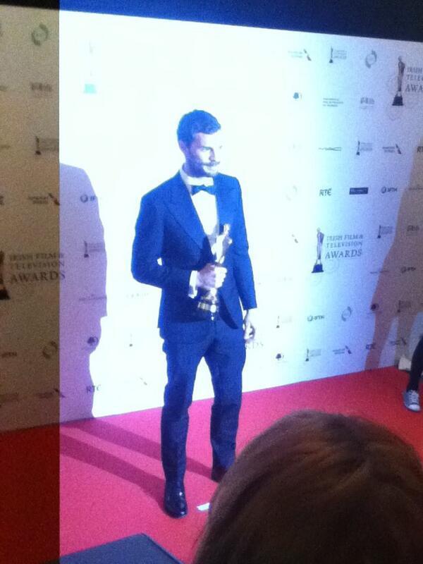 Jamie Dornan premio IFTA 2104 9