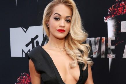 Rita Ora hizo 8 audiciones para la película 50 Sombras
