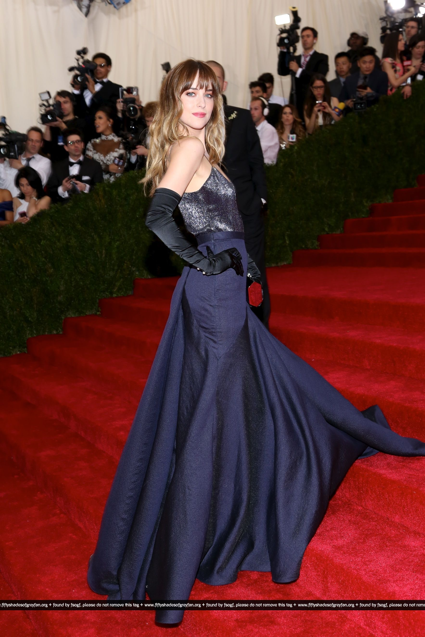 Dakota Johnson Met Gala 2014 29jpg
