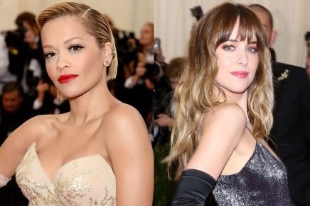 Más fotos de Dakota Johnson y Rita Ora en la gala del MET