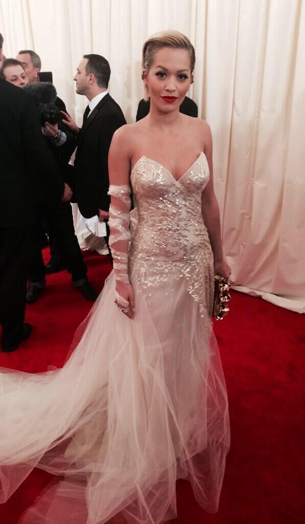 Rita Ora Met Gala 2014 1