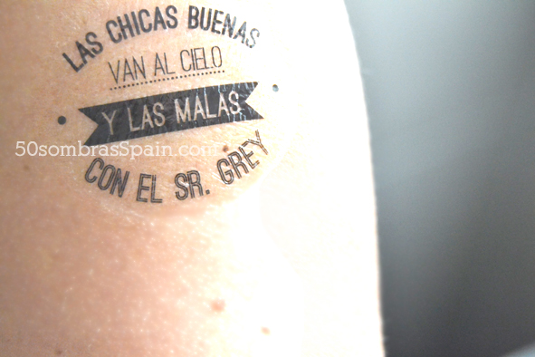 Tattoo 50 Sombras Spain Chicas malas 2