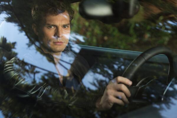 Jamie Durnan as Christian Grey  50 Sombras