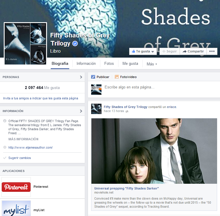 50 Sombras M S Oscuras 50SombrasES Thanks 50Latersbaby For The
