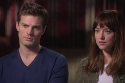 Primera parte de la entrevista a Jamie Dornan y Dakota Johnson