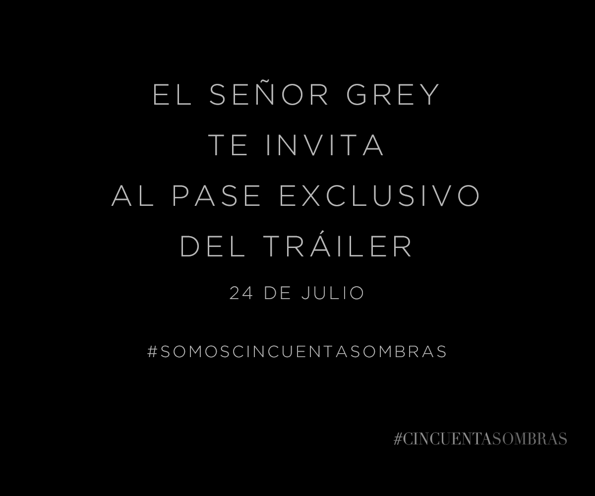 Pase exclusivo Fifty Shades of Grey D