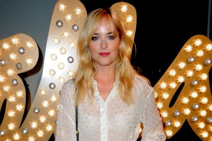 Dakota Jonhson en la Semana de la Moda de Londres