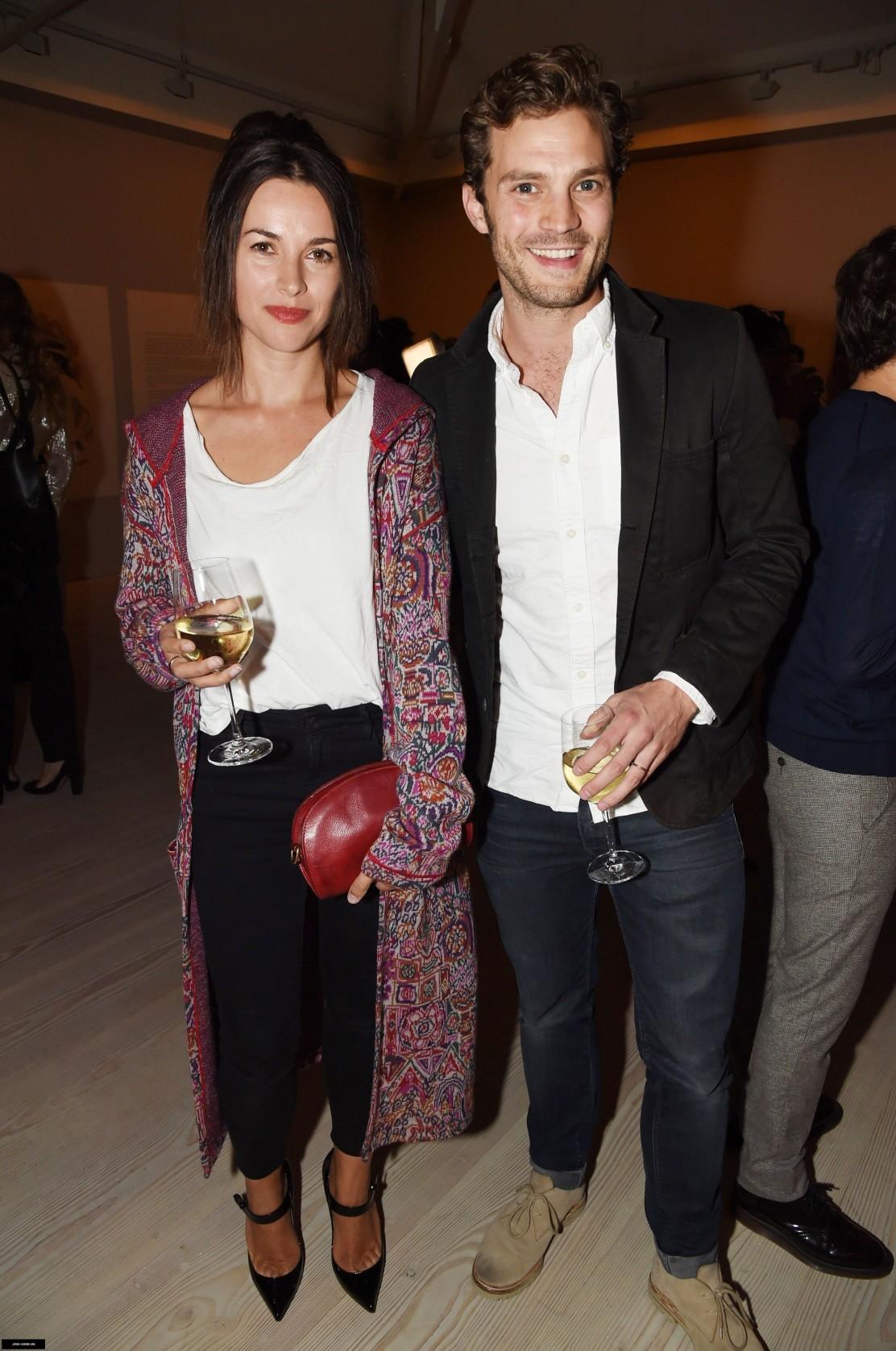 Jamie Dornan y Sam Taylor-Johnson juntos en Londres
