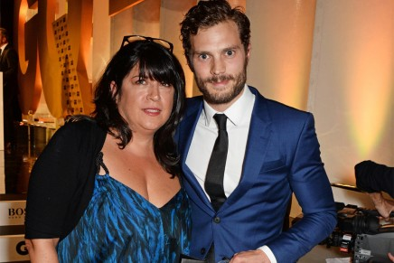 Jamie Dornan, E.L. James y Rita Ora en los premios GQ Men of the year 2014