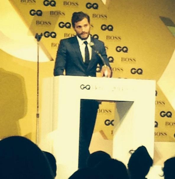 Jamie Dornan  QC Awards 14 5