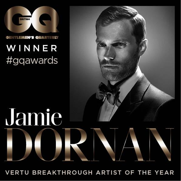 Jamie Dornan  QC Awards 14 8