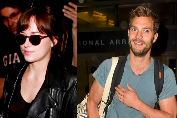 Jamie y Dakota han llegado juntos a Los Ángeles