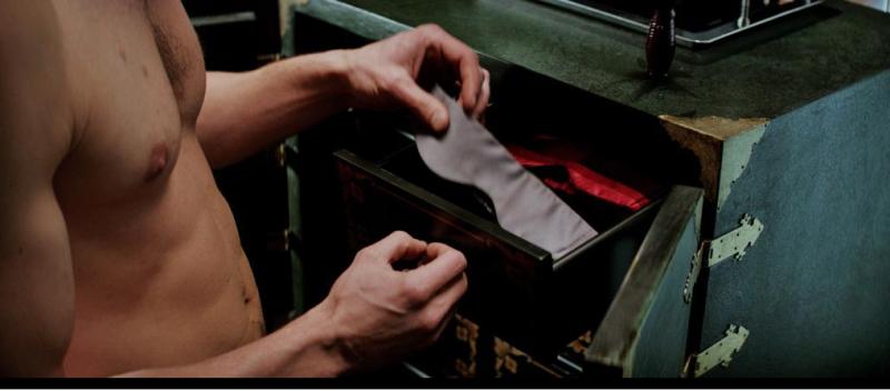 Christian Grey 50 Sombras cuarto rojo del dolor