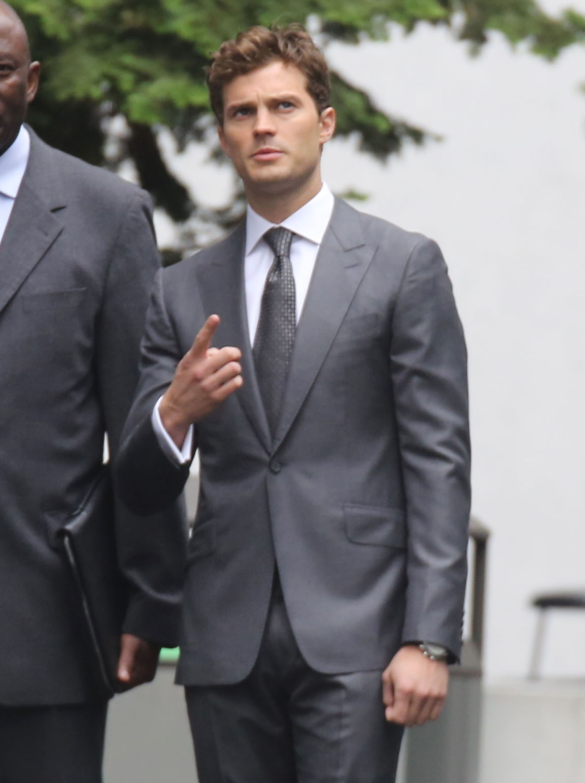 "Jamie Dornan Films ""Fifty Shades Of Grey"" Reshoots"
