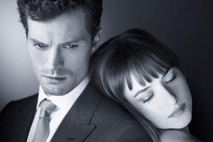 Nueva imagen de Christian y Ana para el lanzamiento de la edición de maquillaje inspirada en 50 Sombras