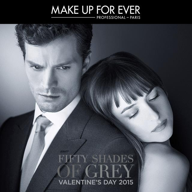 Christian Grey Ana Steele 50 Sombras make up forever
