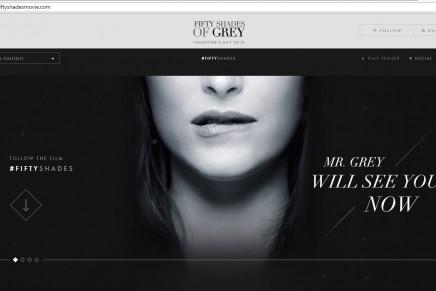 La web oficial Fifty Shades Movie totalmente renovada
