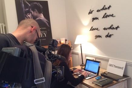 Fotos y vídeo de la entrevista realizada para Informativos Telecinco