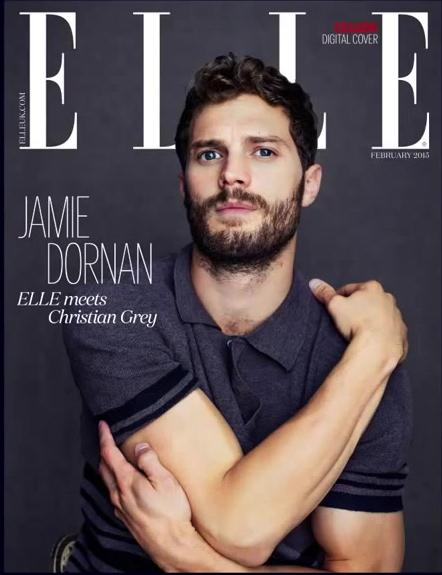 Jamie Dornan 50 Sombras Elle feb 15 2