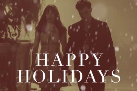 ¡Felices Fiestas! Nuevo still de la película 50 Sombras